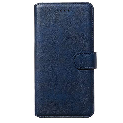 Tosim Galaxy J5 2016 Hülle Klappbar Leder, Brieftasche Handyhülle Klapphülle mit Kartenhalter Stossfest Lederhülle für Samsung Galaxy J5 2016/J510 - TOYYO080183 Blau