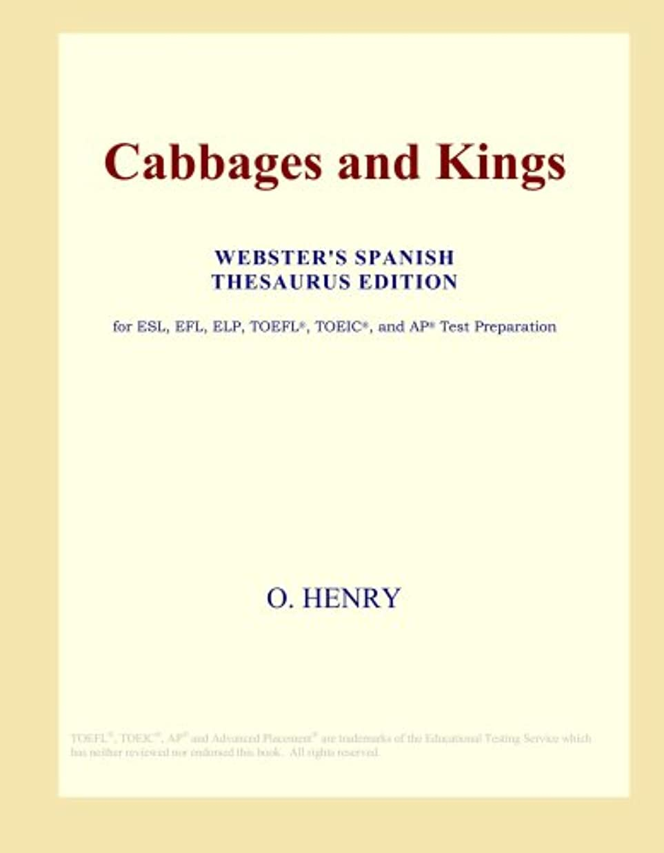 衝動知る同様にCabbages and Kings (Webster's Spanish Thesaurus Edition)