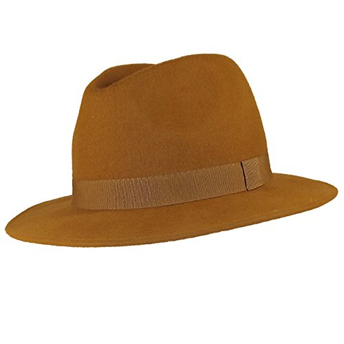 Chapeau-tendance - Chapeau Borsalino Camel Bogart - 55 - Homme