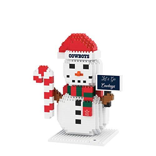 FOCO Dallas Cowboys NFL BRXLZ Snowman, One Size (PZNFSM)