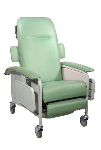 Drive Medical Clinical Care Geri Chair Recliner, Jade