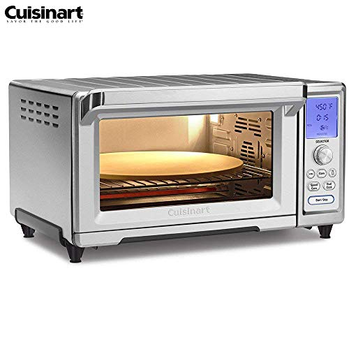 Cuisinart TOB-260N Chefs Convection Toaster Oven, Stainless Steel (Renewed)