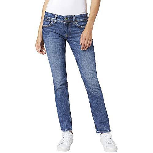 Pepe Jeans Saturn T-Shirt, Azul (Denim 000), 27 para Mujer