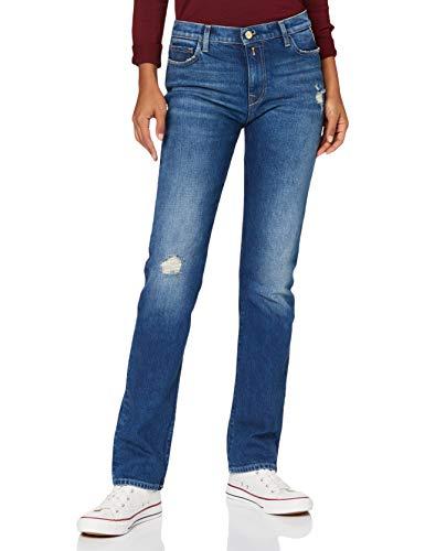 REPLAY JULYE Jeans, 009 Azul Medio, 25 W   30 L para Mujer