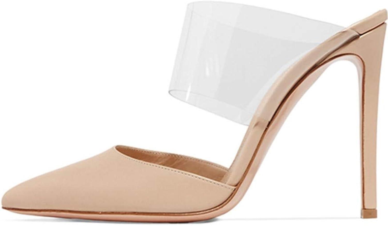 YOJDTD Schuhe Damenschuhe Sandalen Sandaletten mit hohem Absatz Damen Damen Damen - Einzelschuhe, nackt, 38  0188a0