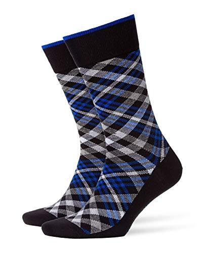 BURLINGTON Herren Socken Cadogan - 83prozent Baumwolle , 1 Paar, Schwarz (Black 3000), Größe: 40-46