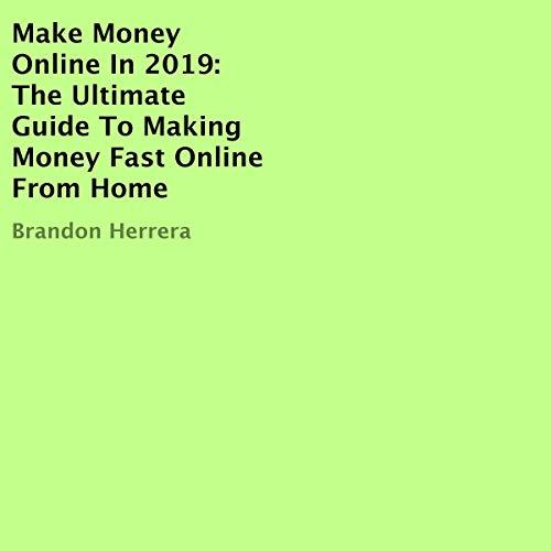 Make Money Online in 2019 audiobook cover art