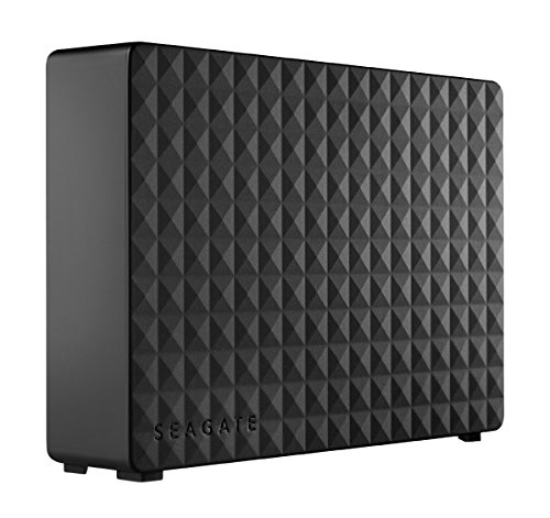 Seagate 4TB Expansion USB 3.0 Desktop 3.5 Inch External Hard Drive for PC, Xbox One and Playstation 4 - Black