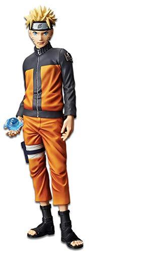 Bandai - Grandista Shinobi Relations Estatua Uzumaki Naruto, Multicolor (Banpresto 82420)