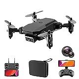 LYHY Drone con cámara para Adultos 4K, GPS FPV Drone, Easy RC Quadcopter para Principiantes con Motor sin escobillas, Retorno automático a casa