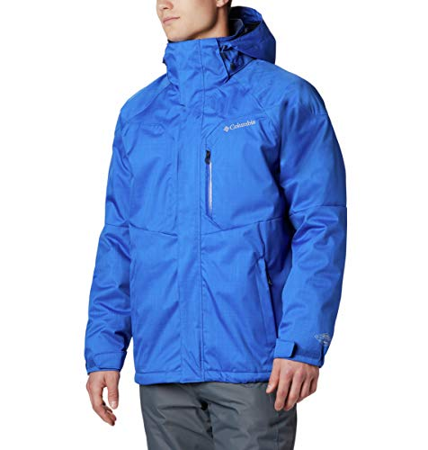 Columbia Men's Standard Alpine Action Winter Jacket, Waterproof & Breathable, Azul, XX-Large