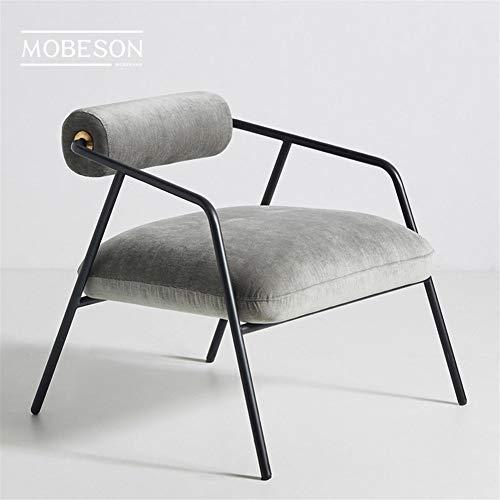 Household products Swivel Pub Esstheke Küchenstuhl Minimalistischen Stil Einfache Italienisch Licht Faule Einzel-Sofa-Stuhl Moderne kreative Heim Wohnzimmer Lounge Chair (Color : B)