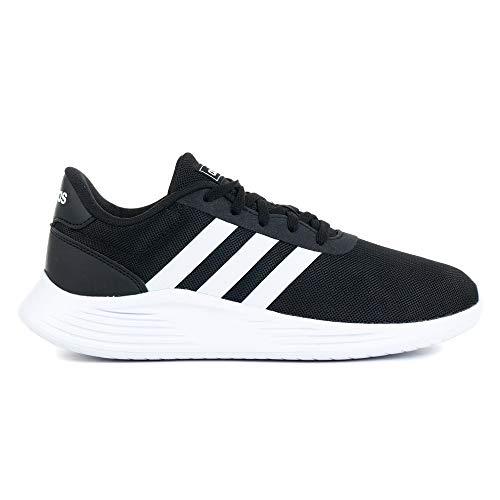 adidas LITE Racer 2.0 K Running Shoe, Core Black FTWR White Core Black, 10 UK Child