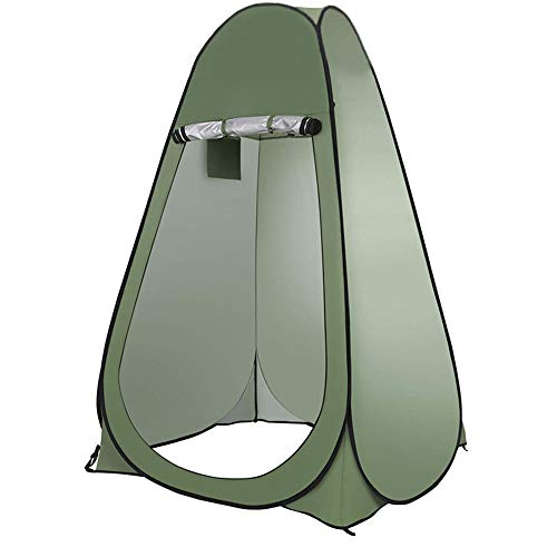 JUAN Pop Up Toilet Tent Outdoor Dressing Room Mobile Camping For Changing Dressing Shower Toilet,Double