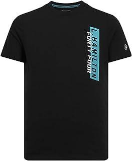 Mercedes AMG Petronas Motorsport Men's F1 Lewis Hamilton Black T-Shirt