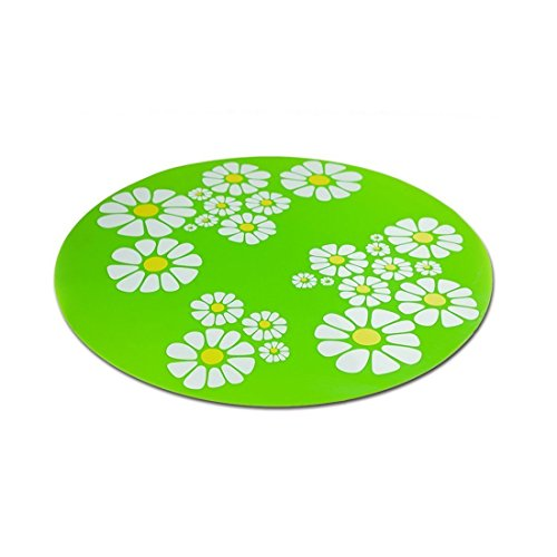 cjc Silicone Pad Non-Slip Mat for Flower Pet Water Fountains, Safe for Dogs Cats Birds