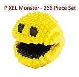 Pixel Monster - 266 Piece Nano-Size Nanoblock Bricks - Brick Block Building Set