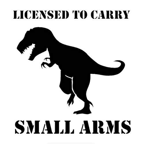 Coches y Motos Dinosaurio de Dibujos Animados Etiqueta engomada del Coche Tronco de Parabrisas agos 15x15.7cm (Color : 1)