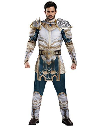 Disguise Men's Warcraft King Llane Muscle Costume, Multi, X-Large