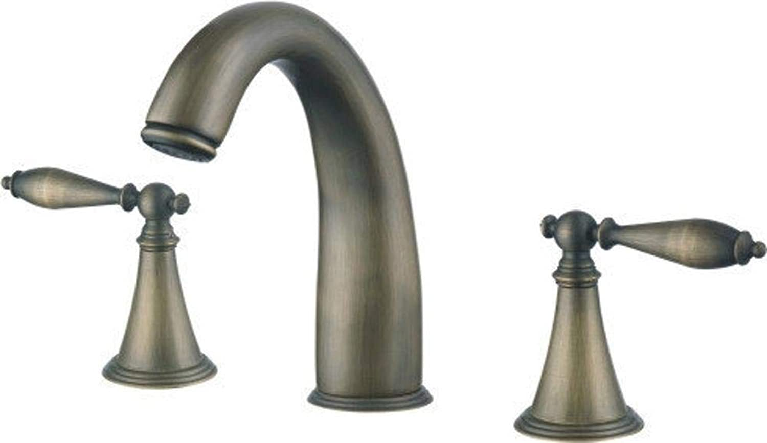Lxj Faucet hot and cold water basin faucet washbasin faucet basin faucet three hole basin faucet