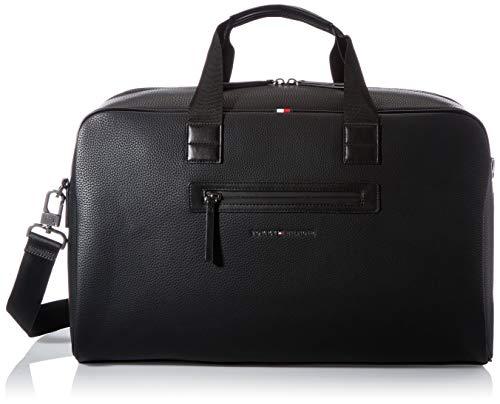 Tommy Hilfiger Essential, Borsa. Uomo, Black, One Size