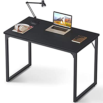 Coleshome Computer Desk Modern Simple Style Desk for Home Office