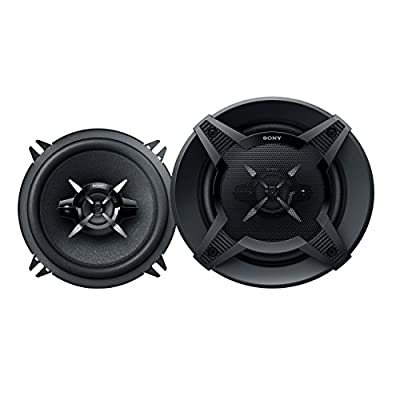 Sony XS-FB1330 13 cm 5-Inch 3-way Mega Bass Co-Axial Speaker System from Sony