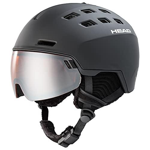 HEAD Radar Casco de esquí, Unisex, Negro, M/L