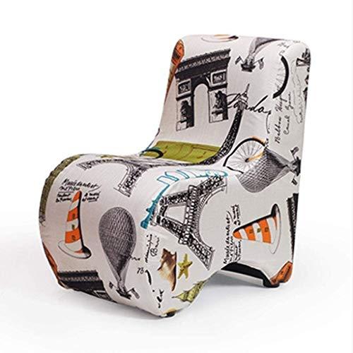 MEETGG - Elegante divano reclinabile con cuscino elastico alto per la casa pigro divano singolo sedia Mutli-colore a scelta