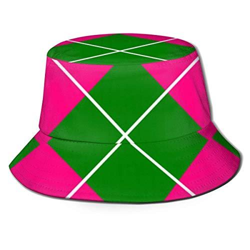 Henry Anthony Sombrero de Sol para Hombre Sombrero de Pescador Protección UV Gorra de Pesca para Senderismo al Aire Libre, Arco Iris Llama Fresca con Gafas de Sol