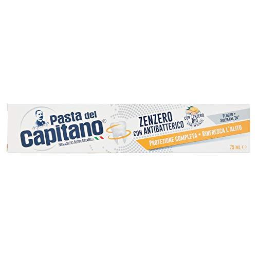 Pasta del Capitano Dentifricio Zenzero Antibatterico, 75ml