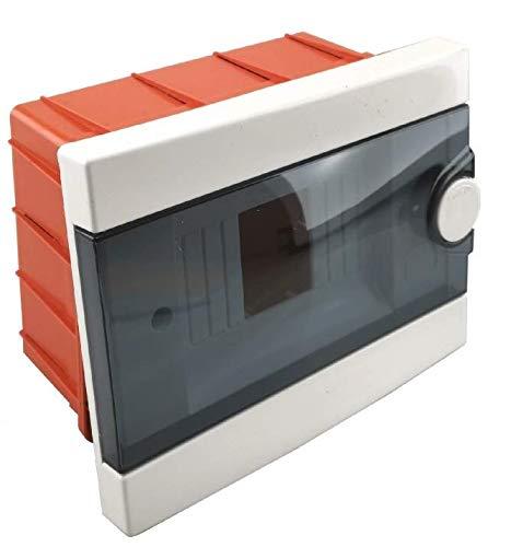 Cuadro eléctrico centralito 2-6 módulos DIN box de superficie o empotrar caja...