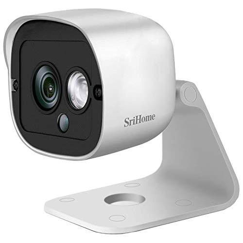 SMILEDRIVE Sri Home WiFi IP CCTV Wireless Cam 3MP HD 1296p Resolution Security Camera - SH029