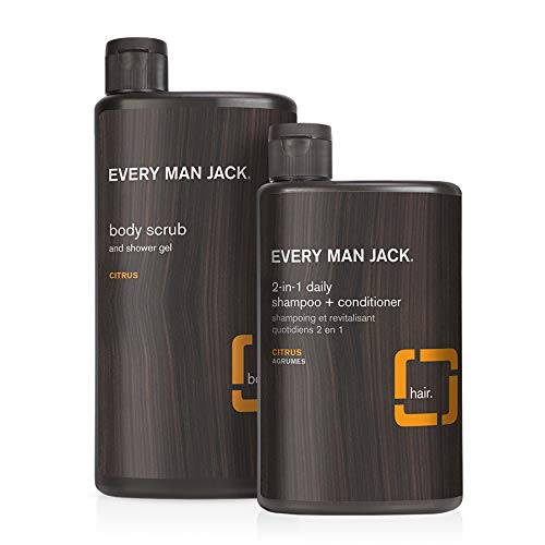 Great Cheap mail order sales interest Every Man Jack Body Wash + Shampoo Citrus 16.9-ounce Bod Set -