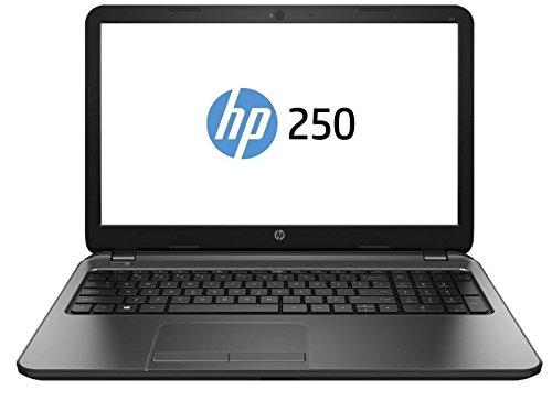 HP 250 G4 (N1A92EA#ABU) 15.6-inch Laptop 5th Generation Intel Core i5-5200U, 2.2 GHz / 2.7 GHz Turbo processor, 4GB RAM, 500GB HDD, 1366 x 768 Screen Resolution, HDMI, USB 3.0, Card Reader, DVDRW, Bluetooth 4.0, Windows 10