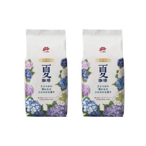 【2袋セット】 小川珈琲 期間限定 夏珈琲 粉180g ×2袋