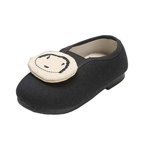 Longra babyschoenen voor jongens en meisjes, van zacht leer, casual schoenen, prinsessen-sneakers, zacht, sneakers, sneakers, schattig, voor kinderen