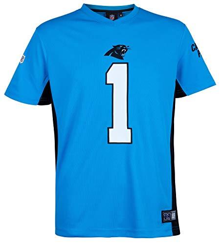 Fanatics NFL Carolina Panthers #1 Newton T-Shirt Herren blau, XXXL