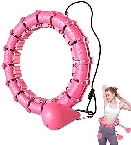 LCUYNUI Hula Hoop Fitness Tire Massage Hula Hoop Non Lascia Cadere artefatti di Perdita di Peso di Yoga Hula Hoop Attrezzature Sportive Adatto per Adulti e Bambini (100)