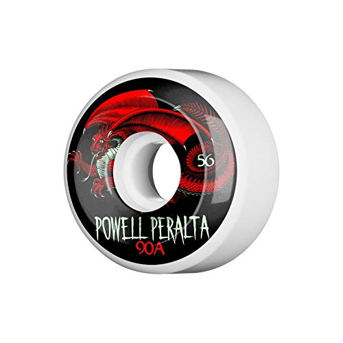Powell Peralta Skateboard Wheels Oval Dragon 90A 56mm Rollen