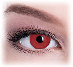Halloween Party Cosplay Prop Decoration Vampire Eyes Original Gothica Red