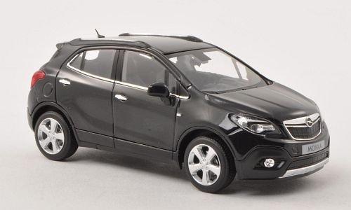Opel Mokka, met.-schwarz , 2012, Modellauto, Fertigmodell, Minichamps 1:43