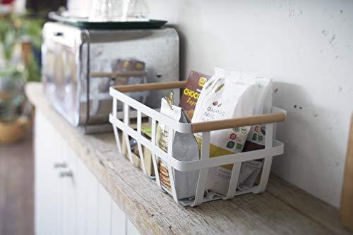 YAMAZAKI home Tosca Storage Basket, Dual Handle