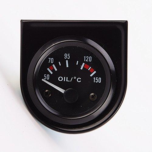 52mm Digital Elektrischer Öltemperaturanzeige Anzeige Sensor Auto Motorrad