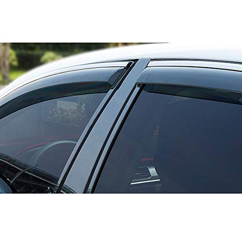 Side Windows Rainshield, Suitable for Xiali Series Car Rain And Rain Shields Old Xiali Modified Window Rain Eyebrow N7 Rain Shield To Cover The Rain Shield,M