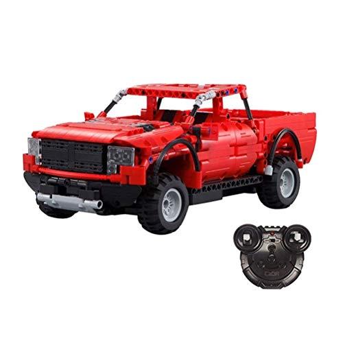 Bausteine RC Car-SUV-Auto-Modell-Kleintransporter DIY-Kit For Kinder Puzzle Montage Kleine Partikel Bausteine Modell Auto-Geschenk For Erwachsene Und Kinder für Erwachsene Jugendliche und Kinder