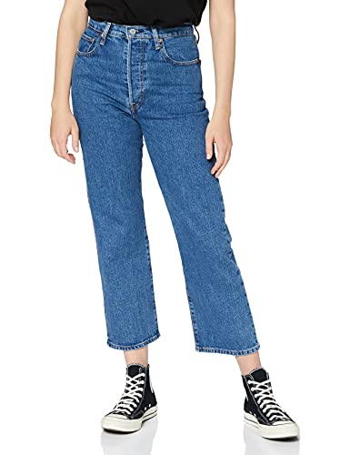 Levi's Ribcage Straight Ankle Jeans, Georgie, 2327 Donna