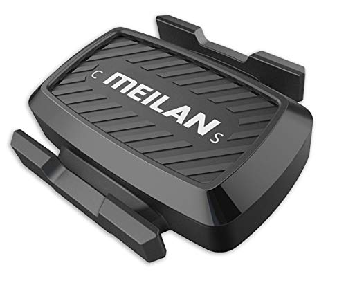MEILAN C1 Bicycle Wireless Speed & Cadence Sensor, Bluetooth 4.0, ANT+, for iPhone, Android, Bike Computer and Apps, Waterproof