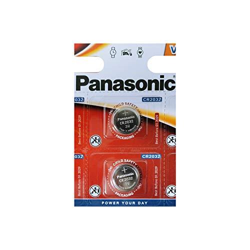 3V Panasonic CR2032 Lithium Knopfzelle Batterie für Computer PC Mainboard u.a. | 220mAh