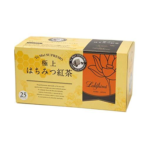 Lakshimi(ラクシュミー) 極上はちみつ紅茶 ティーバッグ25袋入り